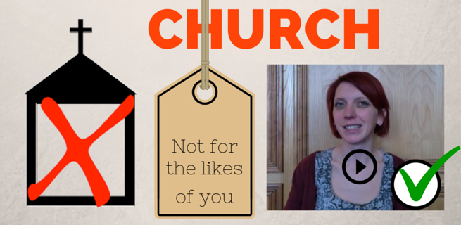 Church not for you banner